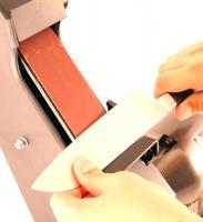 Заточка ножа на гриндере