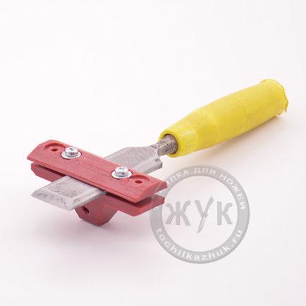 Универсальное приспособление для заточки стамесок и ножей рубанков