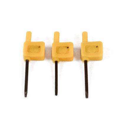 Ключи для зажимов Torx (3 шт.)