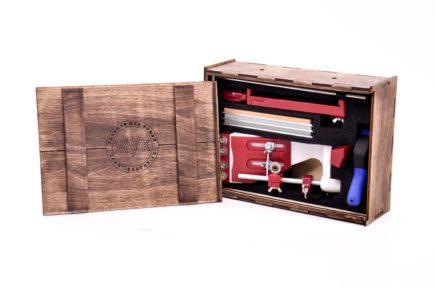 Комплект точилка ЖУК в ящике. Готовое решение для дома.