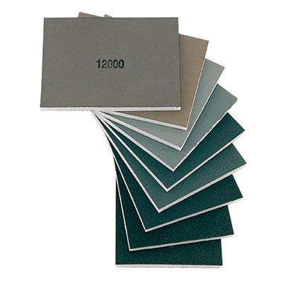Абразив Micro-Mesh, 100*75*5мм, набор из 9 штук, от 1500 до 12000грит