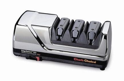 Электрический точильный станок для ножей Chef`s Choice (Хром) 120H
