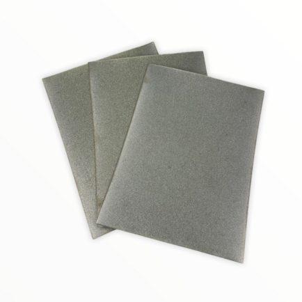 Шкурка шлифовальная алмазная на металлической основе AC20 28/20 160x120мм